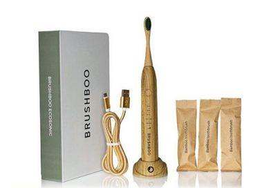 Brushboo Ecosonic: Primer Cepillo Eléctrico de Bambú