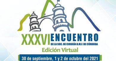 XXXVI Encuentro de la Sociedad de Cirugía Buco Maxilo Facial de Córdoba